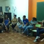 Primer encuentro con los/as voluntarios/as y estudiantes del nuevo curso